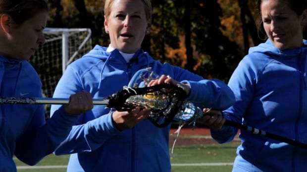 G. How to Take the Draw in Women's Lacrosse Promo Image