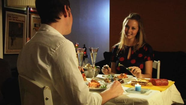 E. How to Cook a Romantic Dinner & Get Sexy Results Promo Image