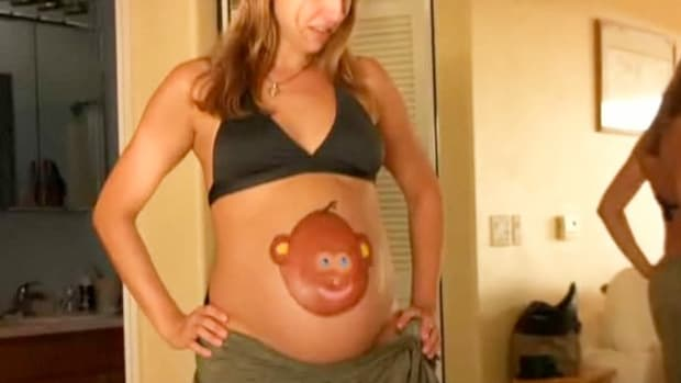 I. How to Paint Your Pregnant Belly Promo Image