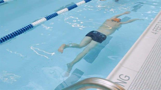 E. How to Swim Faster Promo Image
