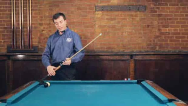 "ZP. How to Make the ""Scratching with Style"" Pool Trick Shot Promo Image"