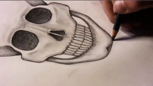 P. How to Draw a Skull Promo Image