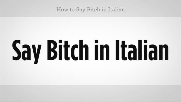 "ZZZA. How to Say ""Bitch"" in Italian Promo Image"