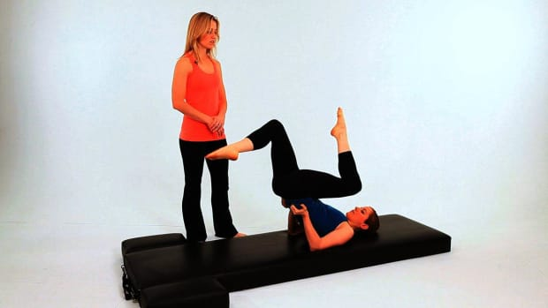 ZZC. How to Do the High Bicycle in Pilates Promo Image