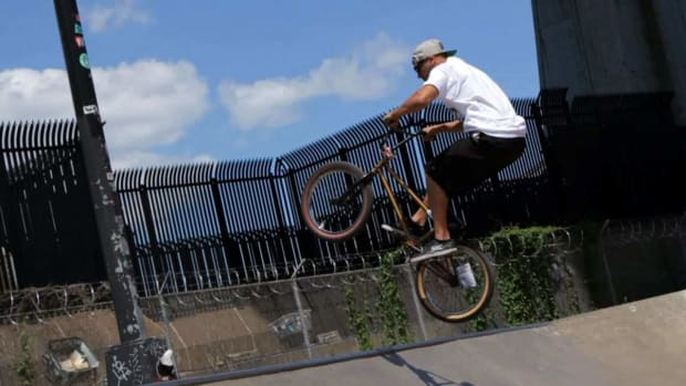 J. How to Do a Fakie on a BMX Promo Image