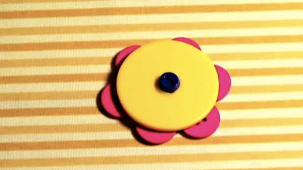 ZX. How to Craft a Button Brooch Promo Image