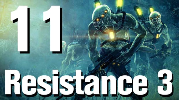 K. Resistance 3 Walkthrough Part 11: City of the Past Promo Image