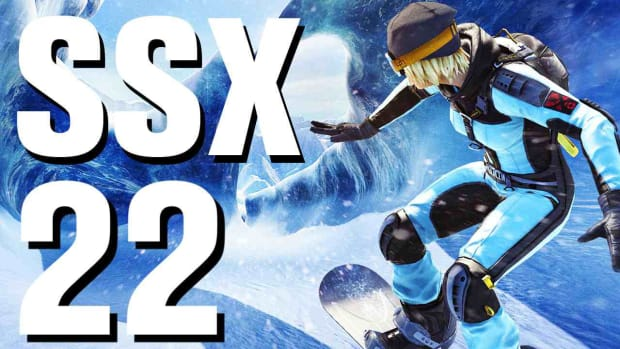 V. SSX Walkthrough Part 22 Antarctica - Off the Grid - Moby Promo Image