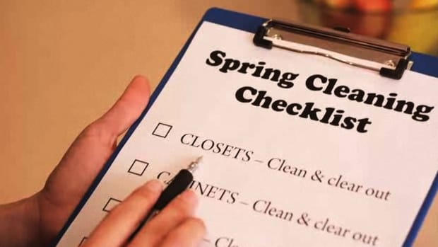 C. How to Set Up a Spring Cleaning Framework Promo Image