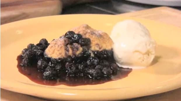 I. How to Make Blueberry Cobbler Promo Image