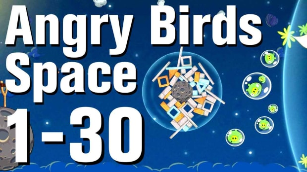 ZD. Angry Birds: Space Walkthrough Level 1-30 Promo Image