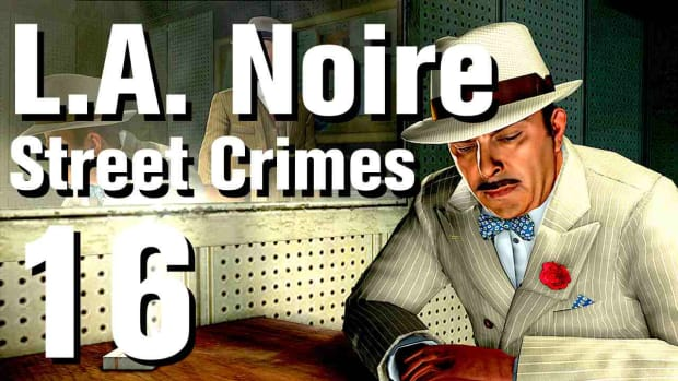 "P. L.A. Noire Walkthrough Street Crimes 16: ""Would Be Robber"" Promo Image"