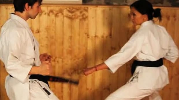 O. How to Do a Front Kick in Karate Promo Image
