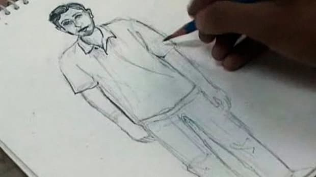 I. How to Draw a Man Promo Image