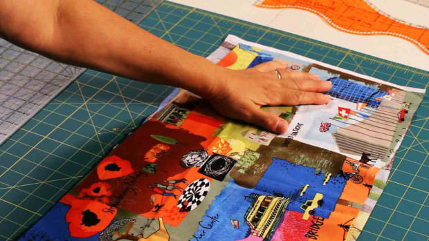 J. How to Align Fabric Grain When Quilting Promo Image