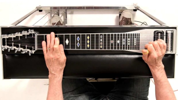 ZF. How to Play Seventh Chords on a Pedal Steel Guitar Promo Image