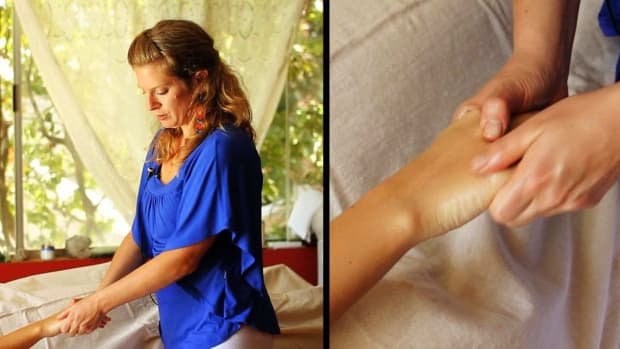 L. How to Give a Hand Massage using Ayurvedic Body Massage Promo Image