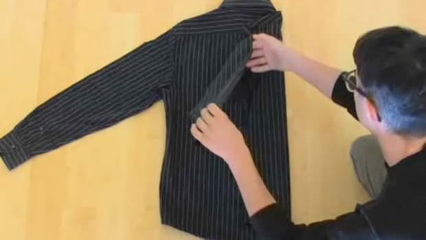 ZZL. How to Fold a Dress Shirt Promo Image