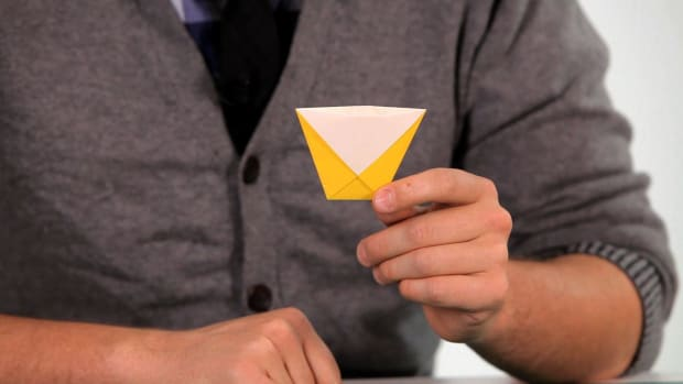 ZM. How to Make an Origami Water Cup Promo Image