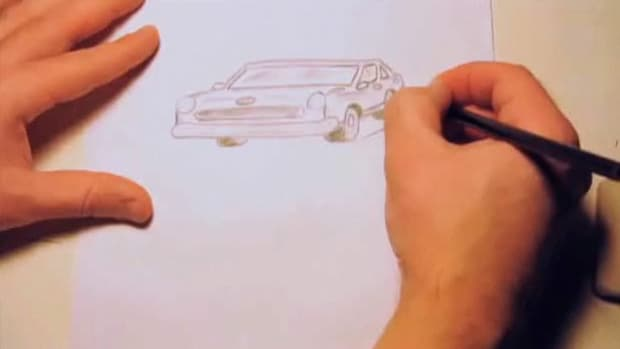 T. How to Draw Cars Promo Image