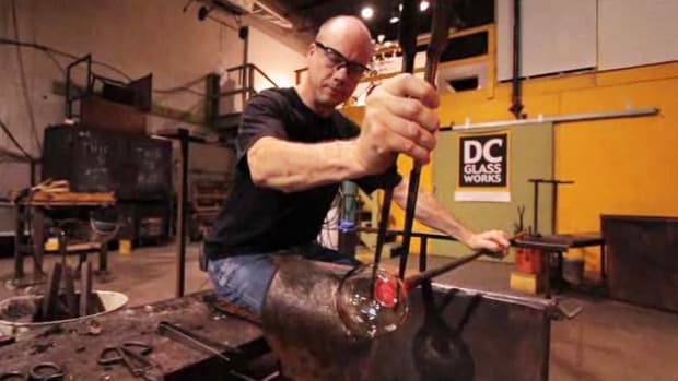 O. How to Use Tweezers to Shape Glass in Glassblowing Promo Image