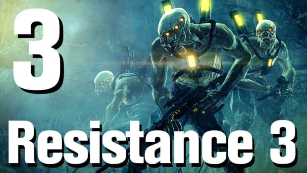 C. Resistance 3 Walkthrough Part 3: Wanted Man Promo Image