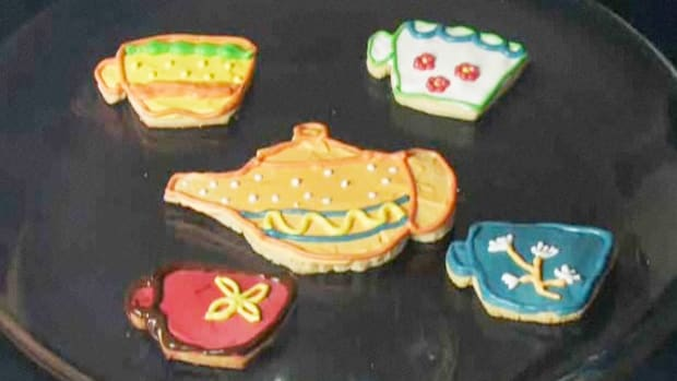 C. How to Decorate Cookies for a Child's Tea Party Promo Image