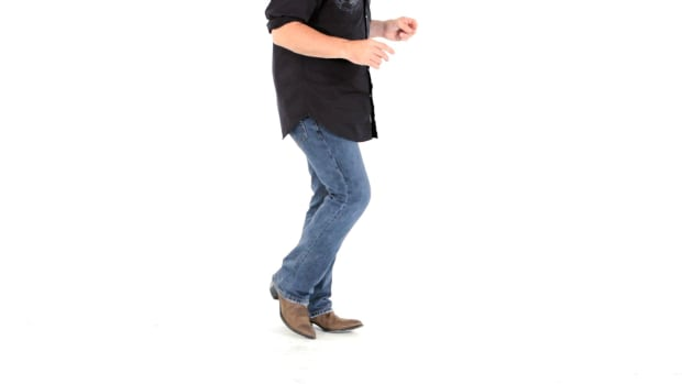 R. How to Do Touch Steps in Line Dancing Promo Image