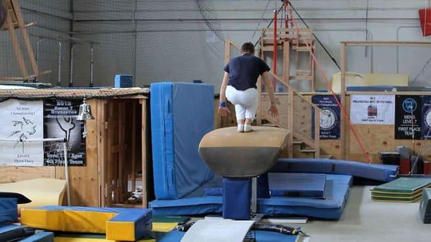 V. How to Do Gymnastics Vault Moves Promo Image
