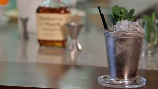 P. How to Make a Mint Julep aka Bourbon Smash Promo Image