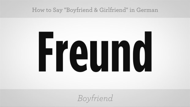 "ZE. How to Say ""Boyfriend"" & ""Girlfriend"" in German Promo Image"
