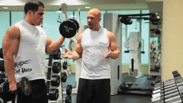 ZK. How to Develop Biceps with Dumbbell Curls for Bodybuilding Promo Image