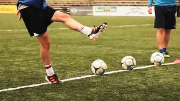 F. How to Do Kicking Drills for Soccer Promo Image