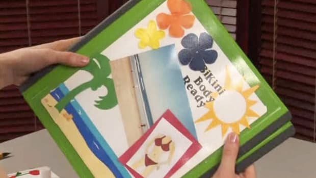 R. How to Make a Weight Loss Scrapbook Promo Image