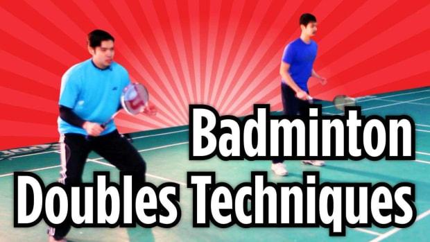 M. 3 Badminton Doubles Techniques Promo Image