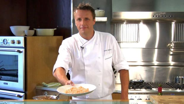 A. How to Make Rock Shrimp and Lobster Butter Risotto Promo Image