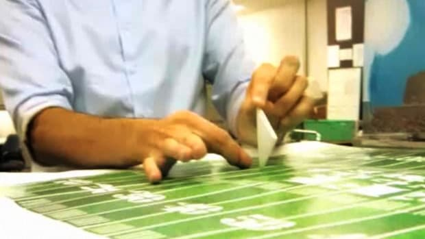 ZD. How to Fold Paper for a Paper Football Promo Image