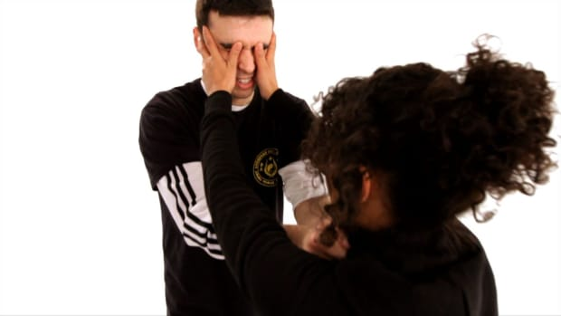 H. How to Attack an Assailant's Eyes in Self-Defense Promo Image