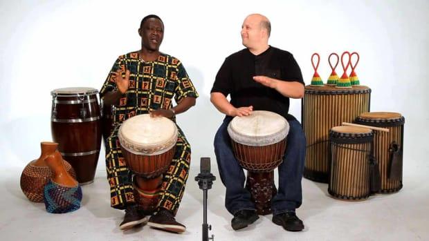 K. Beginner Djembe Drum Solos Promo Image