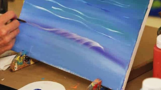 X. How to Paint Waves, Rocks & Surf Using Acrylic Paint Promo Image
