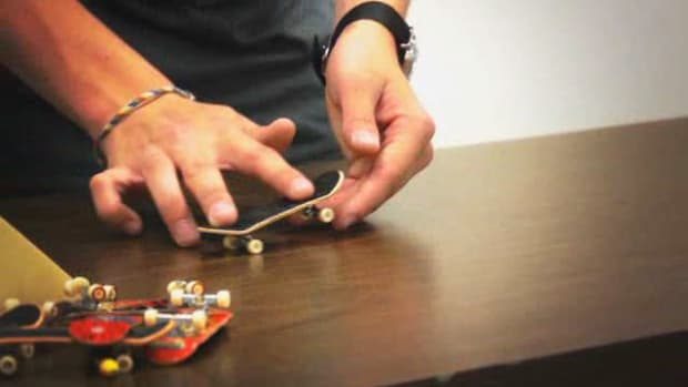 J. How to Do a Fingerboarding Hardflip on a Tech Deck Promo Image