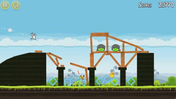 D. Angry Birds Level 4-4 Walkthrough Promo Image
