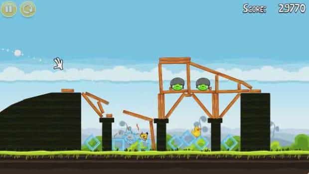 D. Angry Birds Level 4-4 Walkthrough Promo Image