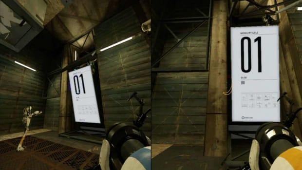 ZZZN. Portal 2 Co-op Walkthrough / Course 5 - Part 1 - Room 01/08 Promo Image