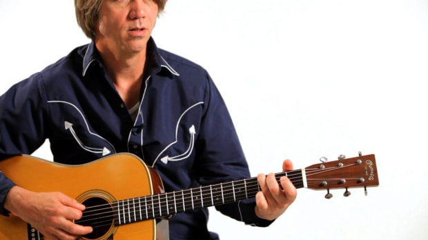 F. How to Play Boom-Chick Rhythm in Country Guitar Promo Image