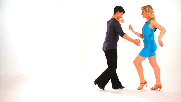 ZD. Different Hand Holds in Cha-Cha Promo Image