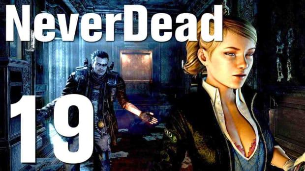 S. NeverDead Walkthrough - Part 19 Sewers Promo Image
