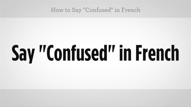 "ZZC. How to Say ""Confused"" in French Promo Image"