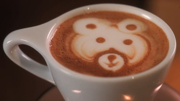 ZC. How to Etch a Latte Art Bear Promo Image