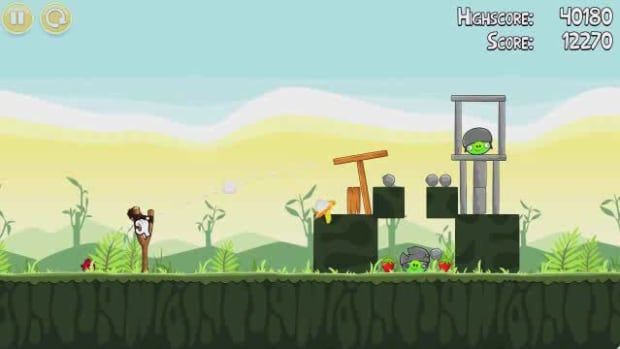 J. Angry Birds Level 2-10 Walkthrough Promo Image
